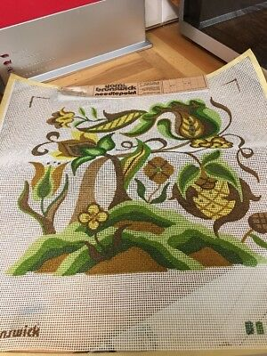 Brunswick Needlepoint Canvas Only Cushion Square Tapestry