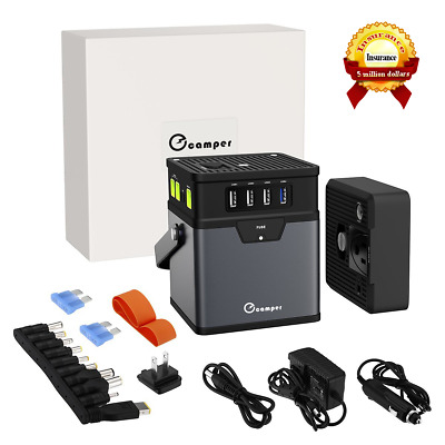 185Wh/50000mAh Portable Generator Power Source Energy Storage Battery AC Outlet