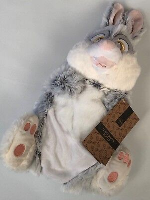 PRIMARK DISNEY THUMPER RABBIT CHARACTER SHAPED HOT WATER BOTTLE - Brand New