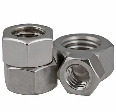M1 M1.2 M1.4 M1.6 M2 M2.5 - M30  HEX Nut  A2 304 Stainless Steel Hexagon Nuts