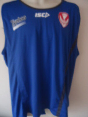 4XL ST Helens Rugby League ISC Training Vest