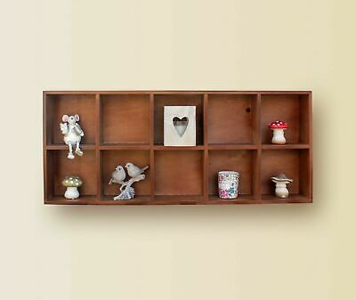 Clearance 50% Set of 2 Wall Floating Shelves Children toy Storage Shelving New