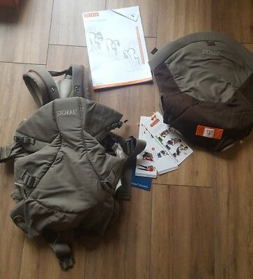 Stokke MyCarrier 3 in 1 super good conditions  RRP  £120