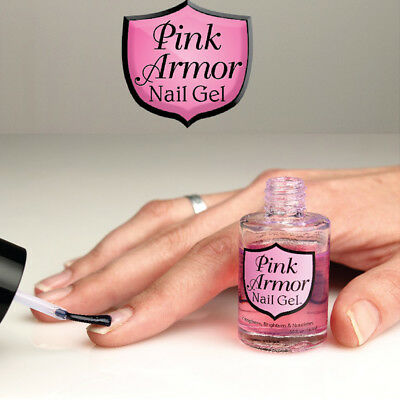 Pink Armour Nail GEL - Strong & Beatuiful Nails Fast Brand New Fashion fb66