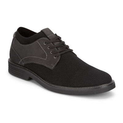 Dockers Mens Privett Knit/Genuine Leather Dress Casual Oxford Shoe with NeverWet