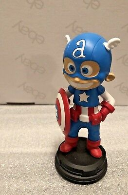 Marvel Gentle Giant Captain America Figure 75Th Limited Edition Animated Statue