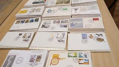 Wholesale Older Europa FDC Collection 14 covers Turkey Greece Cyprus Fine Qualit