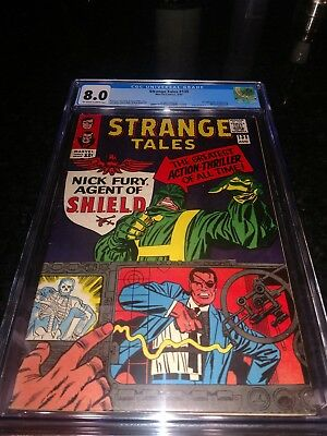 Strange Tales #135 (Aug 1965, Marvel) cgc 8.0
