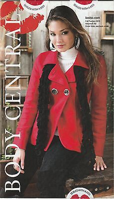 Body Central Clothes Catalog Fall Fashion 2010 VOL.9 Buy 1 Get others at 50% off