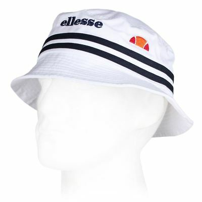 Mens Ellesse Lorenzo2 White Navy Bucket Hat