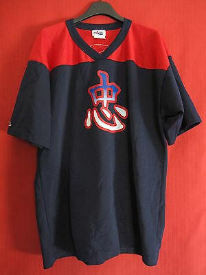 Maillot football Americain Majestic Vintage ancien Patriots Made in USA - L
