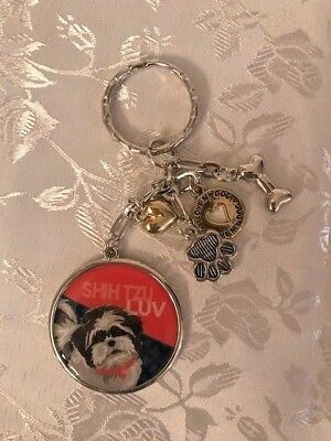 Who's Your Doggy Shih Tzu Key Chain