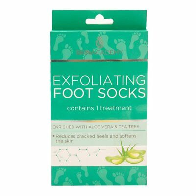 Skin Academy Exfoliating Foot Socks Reduce Cracked Heels Soften Skin 1 Treatment