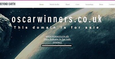 Domain For Sale oscarwinners.co.uk OSCARWINNERS.CO.UK  Domain For Sale