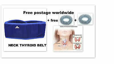 Acs Magnetic Pyramid Therapy Thyroid Neck Belt / Thyroid Throat /Sujok Rings