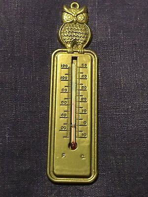 Wandthermometer aus Messing