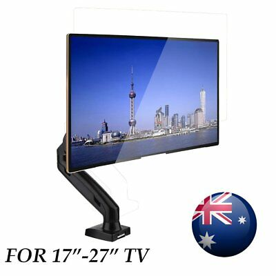Single Arm HD LED Desk Mount Monitor Stand 1 Display Screen TV Holder AUS RR