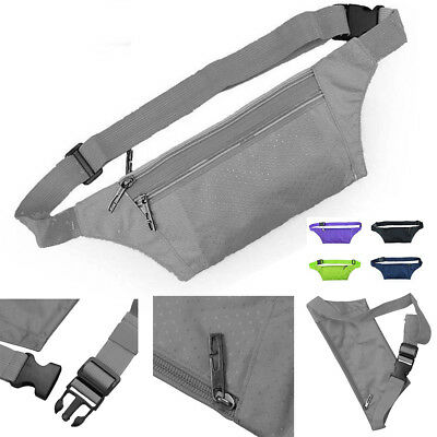 Unisex Pack Bum Bag Festival Waist Belt Pouch Travel Sport Holiday Money Wallet