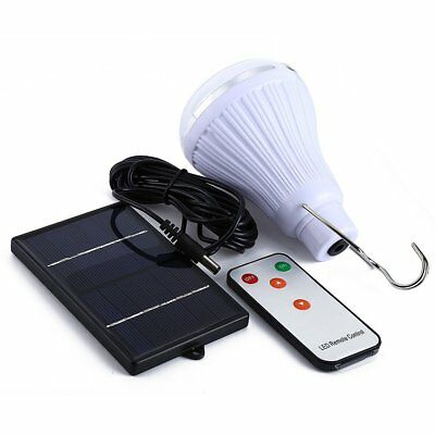 Solar Light Bulb, LightMe Dimmable Multi-functional Brightness 20 LED Solar