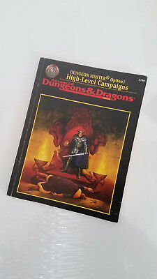 AD&D 2. Edition High-Level Campaigns Dungeon Master Option, TSR 2156 Softcover