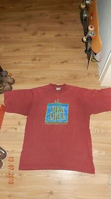 Vintage New Deal Skateboarding T-shirt/ 90s /shirt/ Ed Tempelton /old school /Og