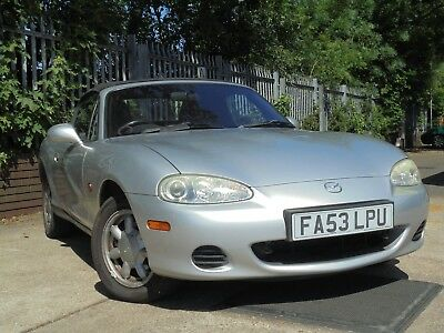 Mazda MX5 1.6 2004 92600 Miles NO RESERVE PART EXCHANGE TO CLEAR