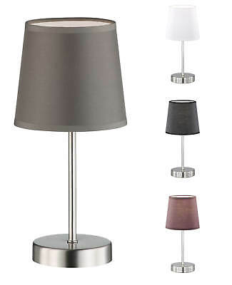 8770.01.64.0000 Wofi Lampe de table Kennett 11 W 3000k 700 lm Nickel mat