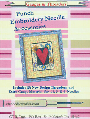 CTR Needleworks Punch Embroidery Set-