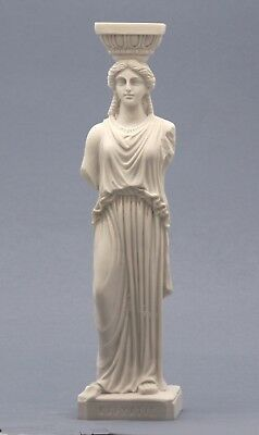 Caryatid Erechtheion Acropolis Athens female figure Greek Statue Sculpture