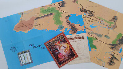 AD&D 2nd Edition Forgotten Realms – Empire of the Sands TSR 9224G FR3 – englisch