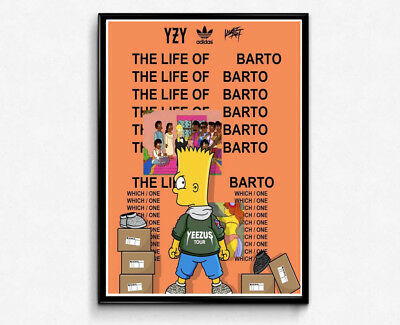LIFE OF BARTO Poster Sneaker Poster, Pop Culture Wall Art, Hypebeast ...