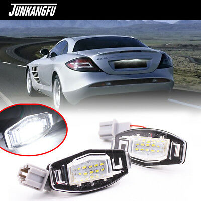 18 License Plate LED Light Direct Fit For Honda Civic Accord Acura TL TSX MDX