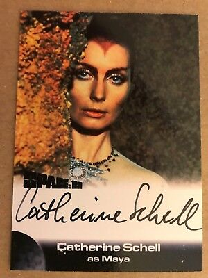 Space 1999 Series 2: Autograph Card: Catherine Schell As Maya Cs3