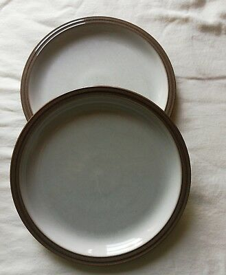 Denby Greystone (2 dinner plates) 10 inches