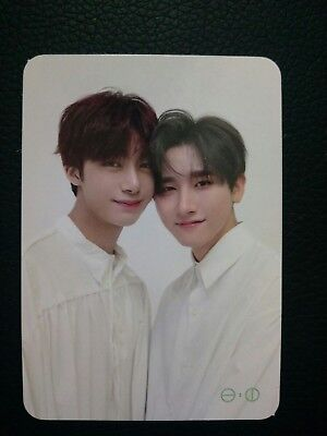 Monsta X The Connect Photocard Hyungwon And I.M (Changkyun) / Hyungkyun