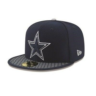 Dallas Cowboys New Era 59FIFTY NFL On Field Sideline Fitted Cap 5950 Hat 7  1  f39321748
