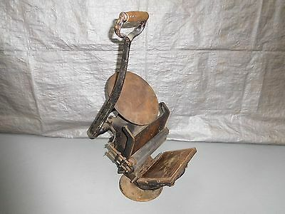 Antique Golding & Co.1878* Cast Iron Hand Operated Table Top Printing Press