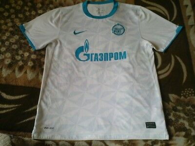 Rare Football Shirt - Zenit St Petersburg Away 2011 - 2012 Size L