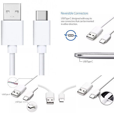 3-Pack 6FT Type C Cable USB-C Fast Charging Cord For Samsung S8 S9 Note 8