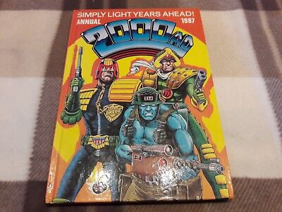 2000Ad Annual 1987, Price Clipped, Ipc Magazines Ltd. 96 Pages.