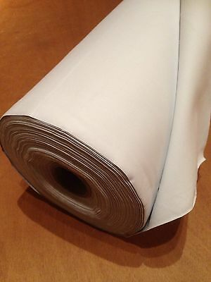 Flame Retardant 50 Metres 3 Pass Blackout/Thermal Curtain Lining Ivory*NEXT DAY*