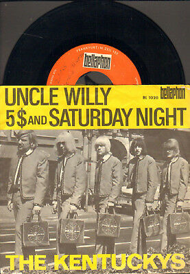 """Kentuckys-7""""-45-Ps- Uncle Willy- Org. Bellaphon-Germany- 1965- Deutschbeat !"""