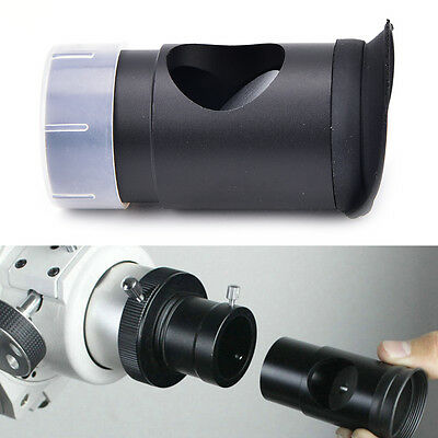 Metal 1.25 cheshire collimating eyepiece for newtonian refractor telescopes J&S