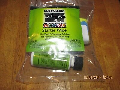 Wipe New Recolor ( as seen on T.V ) New, not in original box, free shipping.