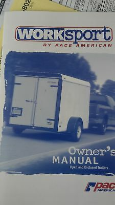 PACE AMERICA used enclosed car trailers
