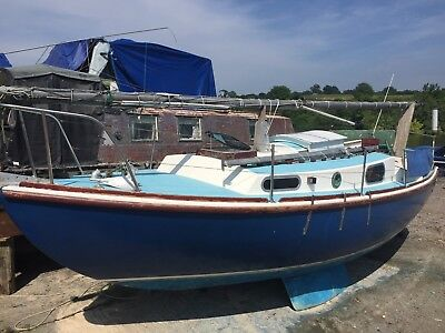 Macwester 26, Volvo diesel, needs a tidy but complete. Cheap ashore storage poss