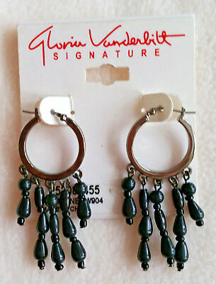 8e1bccf27 GLORIA VANDERBILT DROP Dangle Earrings NEW - $4.99 | PicClick
