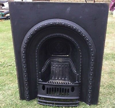 Victorian Cast Iron Fireplace insert. Bedroom, collection only by buyer/courier