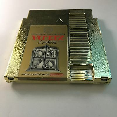 The Legend of Zelda Nintendo NES Gold Cartridge Cleaned Tested ~ Free Shipping ~