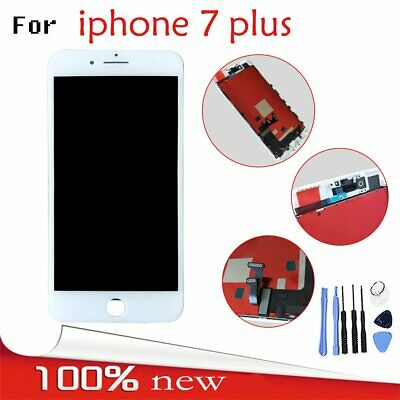 For Apple iPhone 7 Plus LCD Display Screen Touch Digitizer Assembly Unit White
